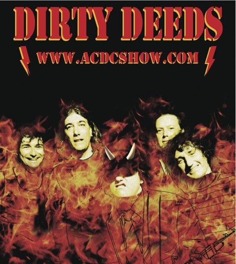 Dirty deeds tribute band