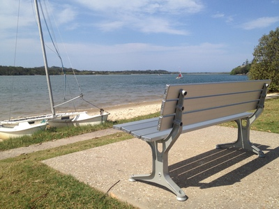 Don't you just wish you were sitting by the Maroochy River?