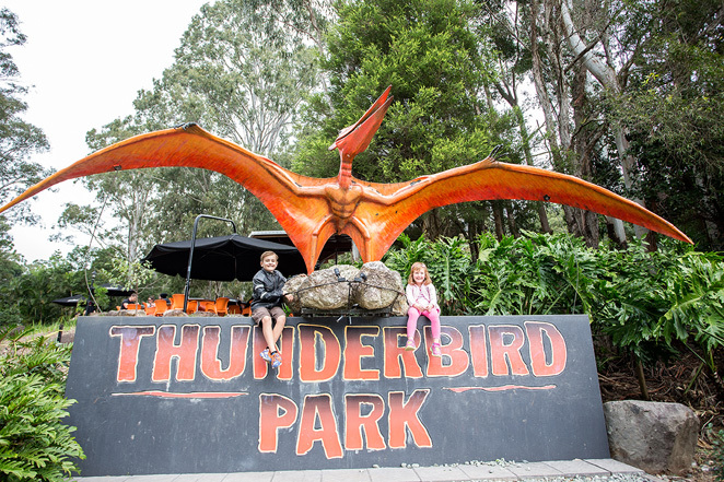 Entrance to Thunderbird Park