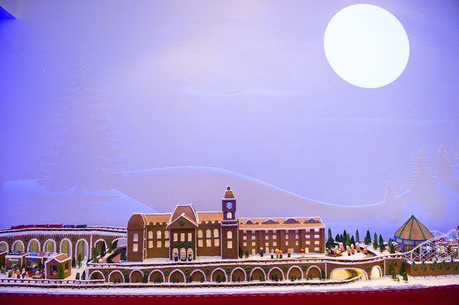 epicure gingerbread village, gingerbread village melbourne, free events kids melbourne, christmas events melbourne