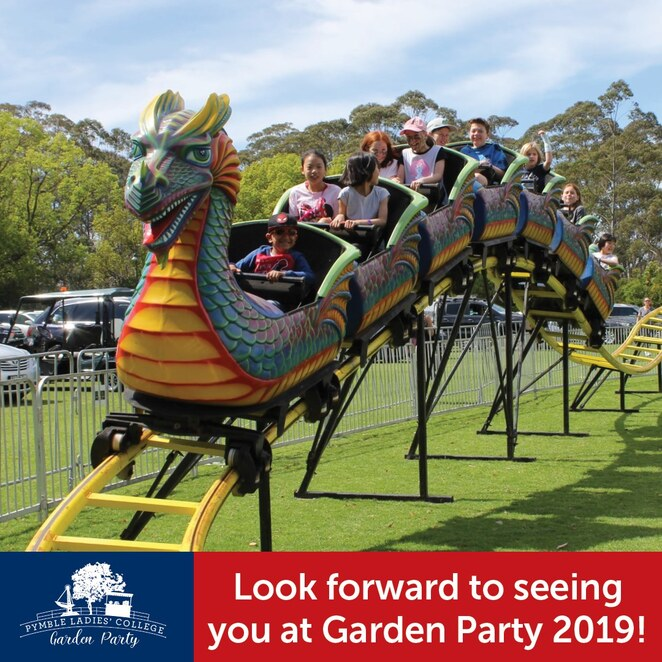 garden party 2019, community event, fun things to do, pymble ladies college, free eent, food and drink, live entertainment, performing arts, performances, rides, games, boutique market stalls, arts and craft, plants, gifts, books, free entry