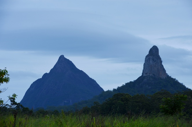 glasshouse mountains sunshine coast mountain view crookneck beerwah