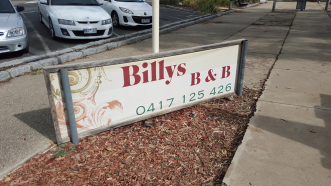 Billy's Bed & Breakfast, at Linda's Billy Tea Rooms