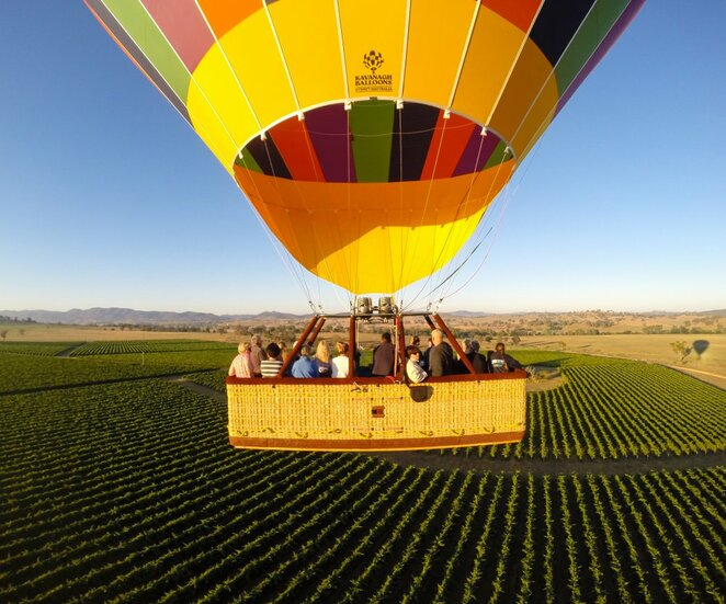 Hot Air Balloon, Mudgee