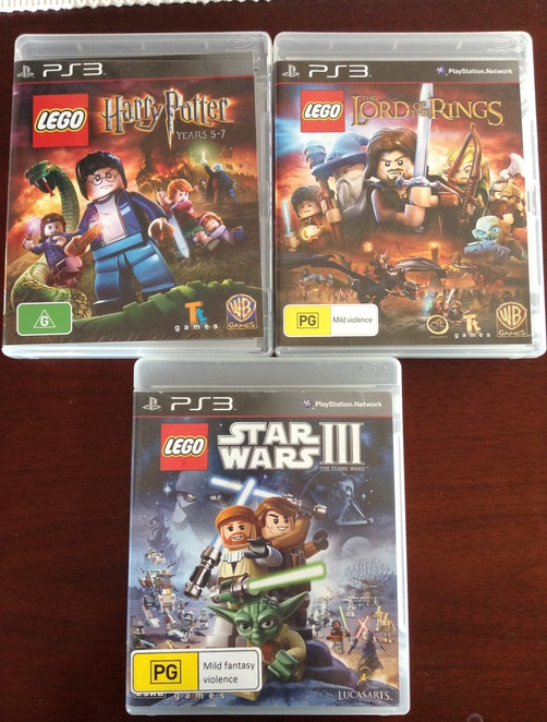 LEGO Harry Potter Star Wars Clone Wars Lord Of The Rings