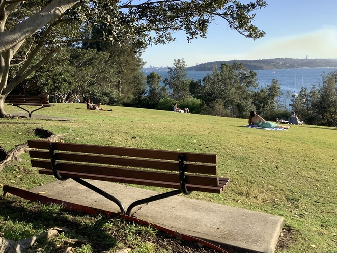 Little Manly Park Cafe Coffee views facilities