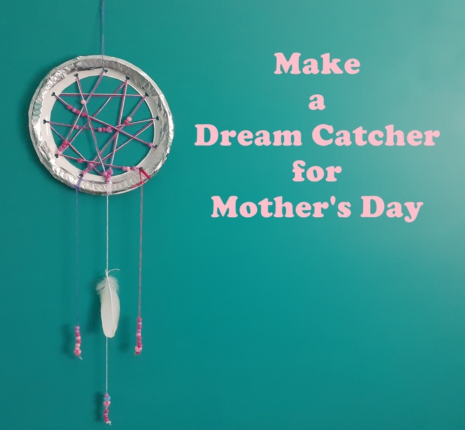 make a dream catcher, paper plate crafts, plastic plate crafts, australia, things to do, school holidays, rainy day, kids, children, crafts,