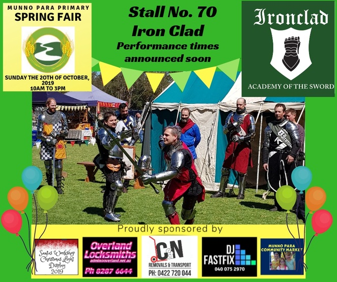 munno para primary spring fair, market stalls, dunk tank, food trucks, performances, obstacle course, jumping castles, medieval display