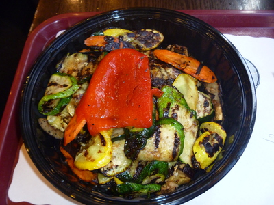 Grilled Veggies at Chirping Chicken