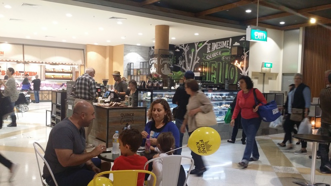 quince cafe, burwood, westfield, campos, coffee, cafe