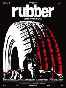 rubber, film, tyre, tire, horror, movie