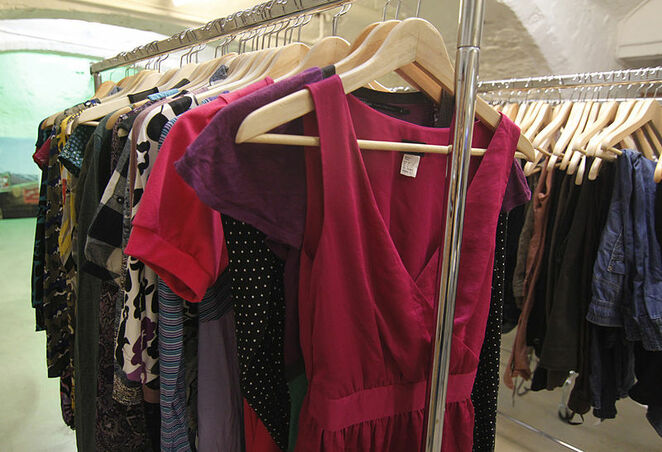 second hand op shop clothing swop exchange fashion sustainability eco