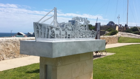 Ship of Stories - Anzac 2014, City of Fremantle, sculpture, war animals