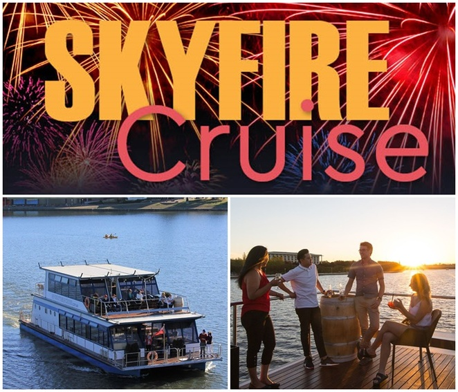 skyfire cruise, 2020, canberra, cruises, events, 2020, fireworks cruise, ACT, canberra, skyfire events, canberra events, things to do, march, 2020,
