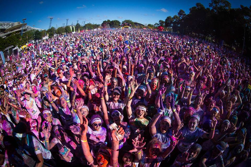 The Color Run now takes place in more than 35 countries worldwide, attracting six million runners across the globe. This year it'll run its Sydney race on Sunday, October 7 at Cathy Freeman Park in Sydney Olympic Park, kicking off at am.