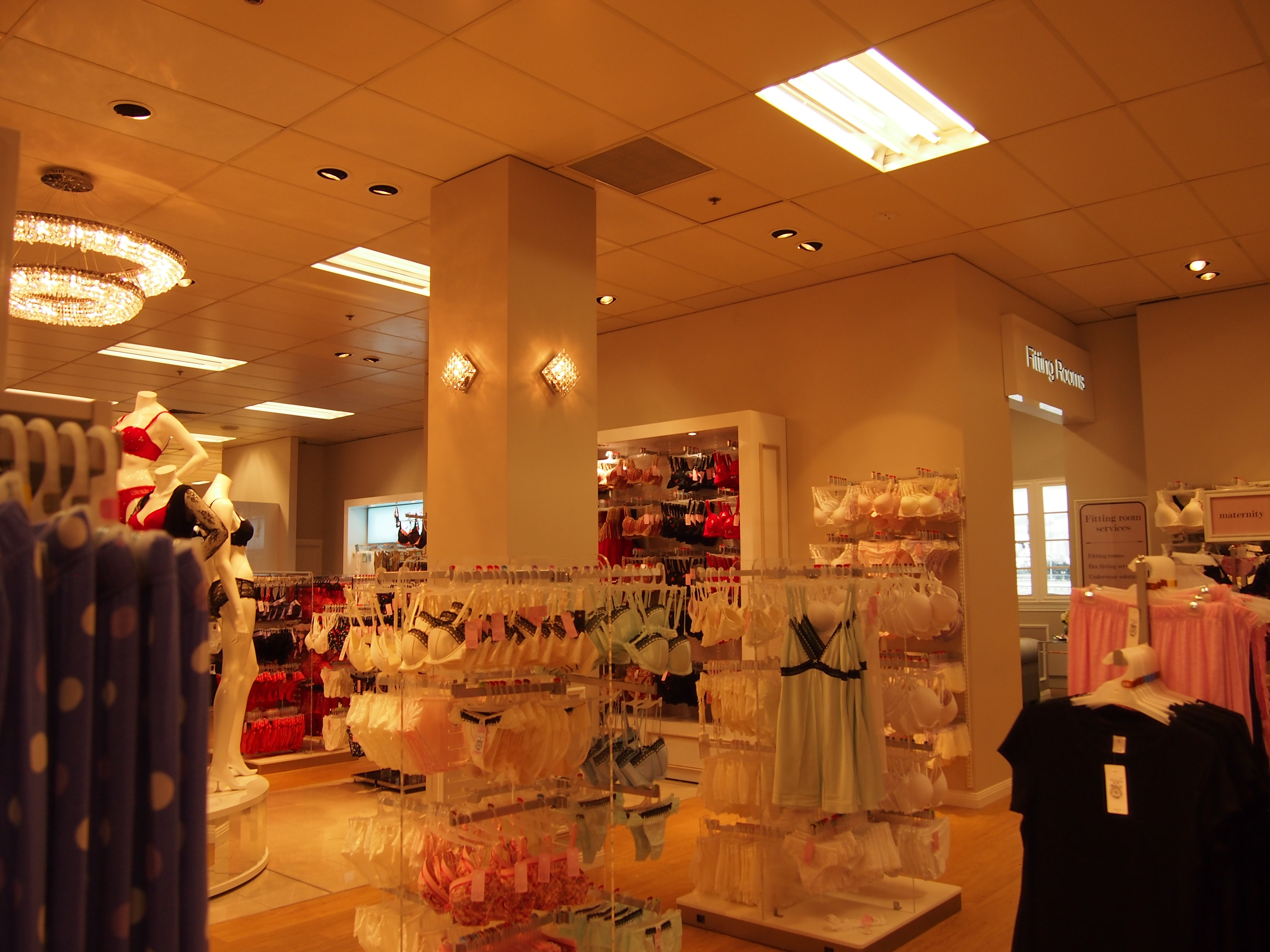Intimate Apparel at Target Southland - Melbourne