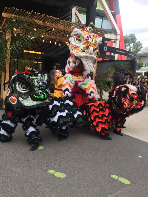 The District Docklands Lunar New Year celebrations