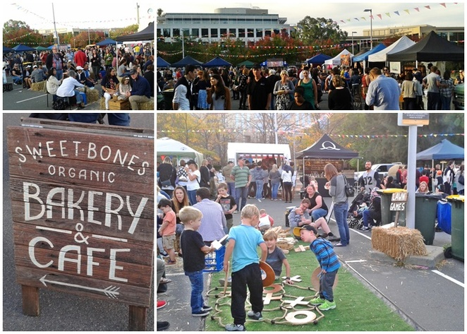 the forage, canberra, barton, things to do in barton, little national hotel, market, food market, night market, foodie,