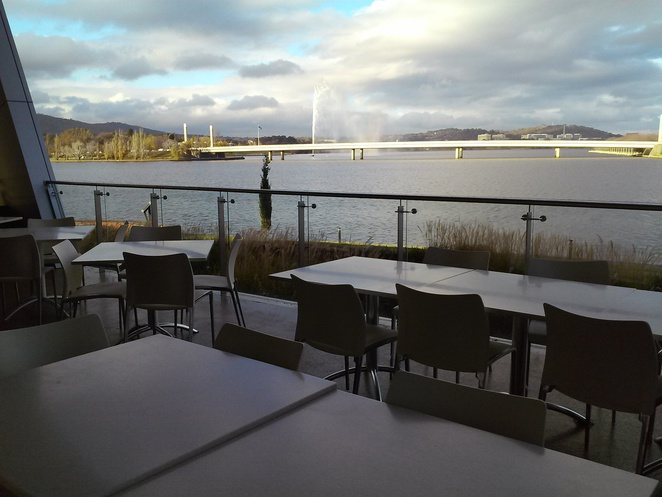 The Museum Cafe, National Museum of Australia, Canberra