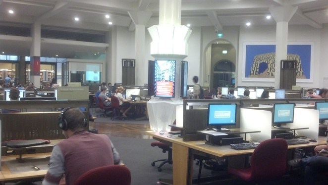 The State Library of Victoria