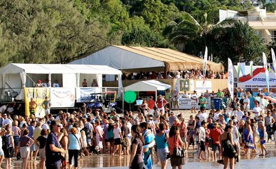 Up to 5000 people from around the world are expected to attend/Image from Noosa Festival Of Surf