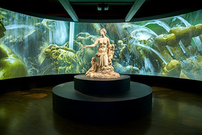 Versailles treasures of the palace exhibition, National Gallery of Australia, Canberra