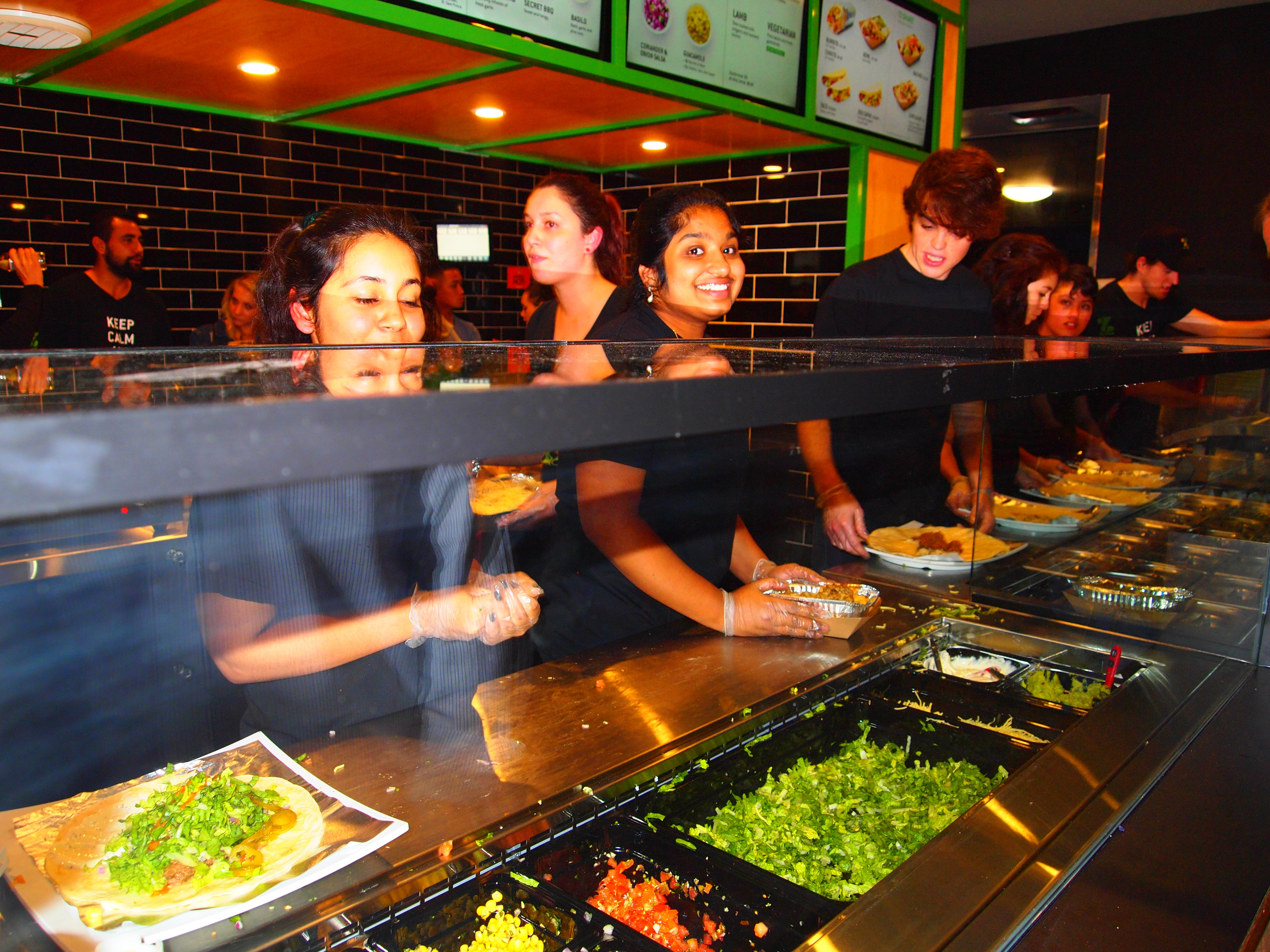Zambrero vip opening party perth for Asian cuisine willetton