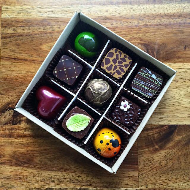 Four Winds Chocolate, maker of exquisite handmade chocolates