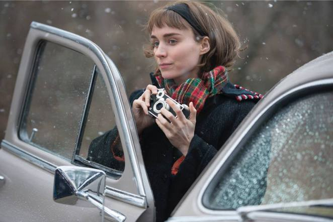 Therese played by Rooney Mara