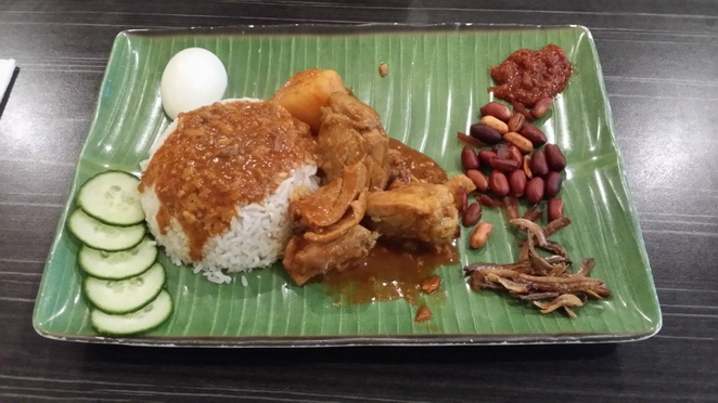 Adelaide Night Noodle Markets, Nasi Lemak