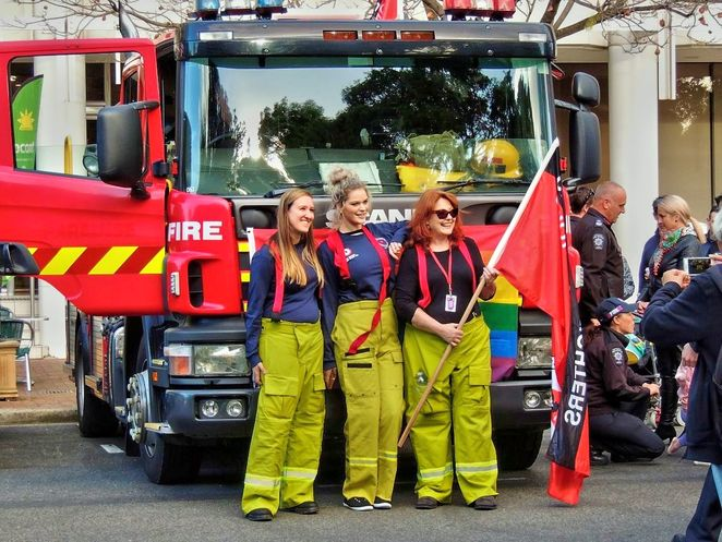 Adelaide Pride March, Adelaide Pride March 2017, pride march, feast festival, adelaide, south australia, lgbtiq, gay and lesbian, light square, fire fighters