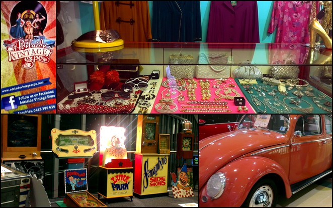 adelaide vintage expo, adelaide fashion festival, classic cars, vintage clothes, antique jewellery, vintage shopping, south australian style