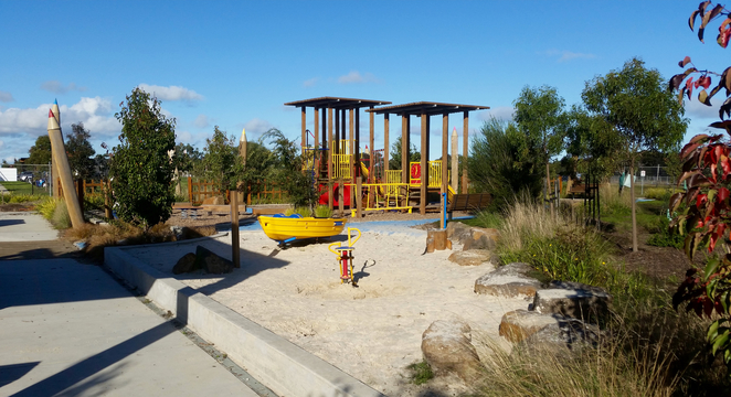Armstrong Creek Park, Armstrong Creek Playground, play equipment, playground, playground in Australia,