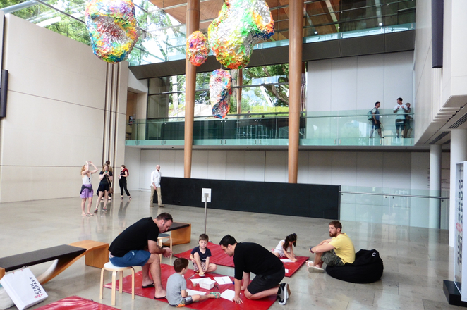 auckland art gallery kids free