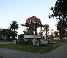 Bandstand in Johnstone Park
