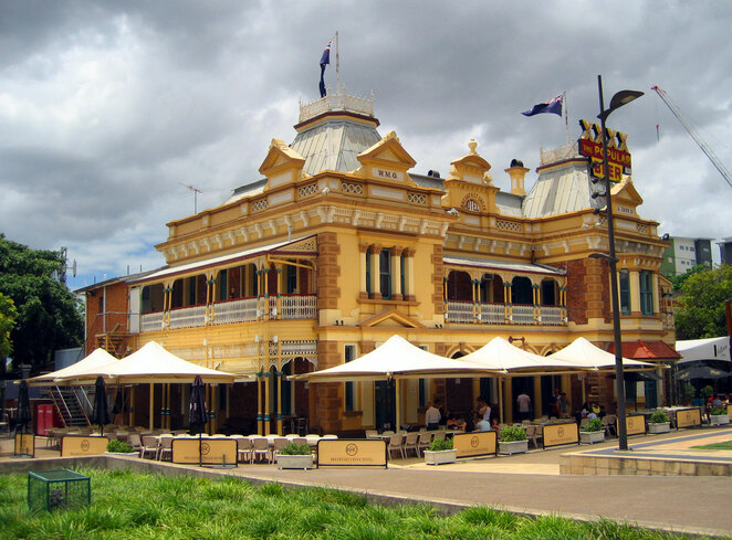 Breakfast Creek Hotel is Brisbane's oldest pub and does great classic steaks