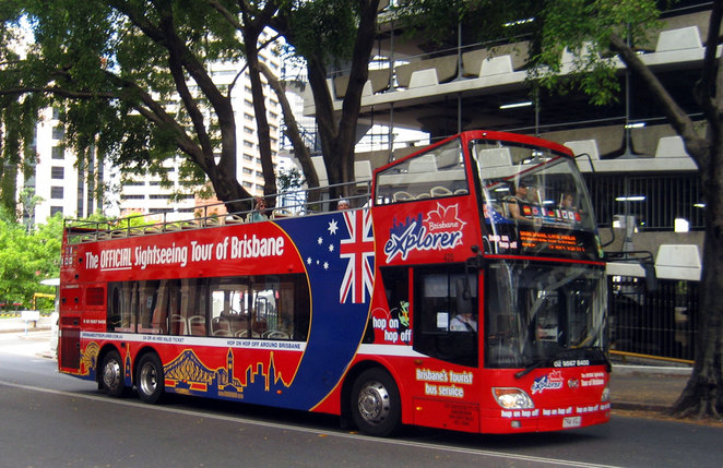 Brisbane Explorer Tourist Bus