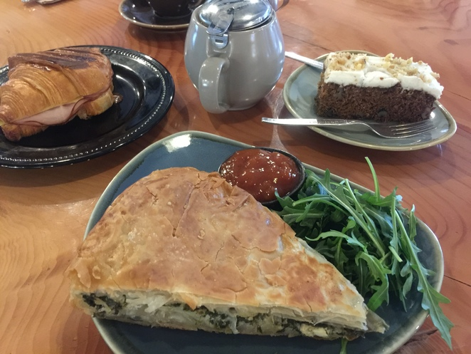 Café, Lunch, Breakfast, Homemade food and cakes, Coffee, child friendly, outdoor seating, cheap meals, vegan and vegetarian, caters for all,