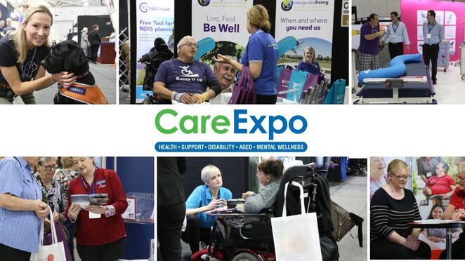 care expo 2019, community event, fun things to do, brisbane convention and exhibition centre, free entry, support providers, health and care providers, community services, businesses, organisations, products and services, health and care industries, aged care, disability care, inhome suport, education, mobility, mental health, social services, recreational services