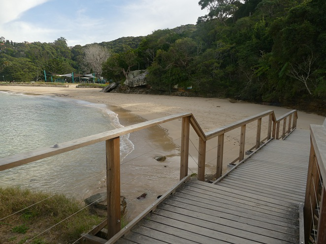 Chowder Bay Beach walking trails Headland Park Mosman NSW