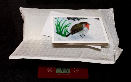 Christmas cards, Christmas presents, Australia Post, postage costs, overseas mailing, micro scale