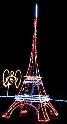Christmas Wonderland Eiffel Tower