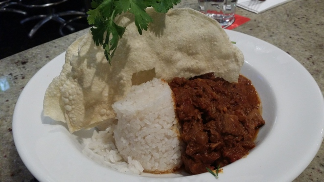 Club Bar, Beef Curry, Adelaide