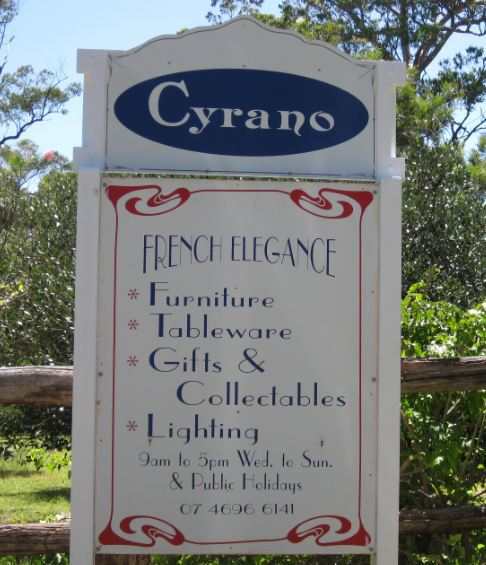 Cyrano French Elegance antique furniture