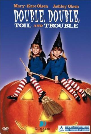 Double Double Toil and Trouble Olsen Twins Kids Halloween Movie