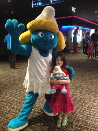 Family Fun Day Village Cinema The Smurfs 2