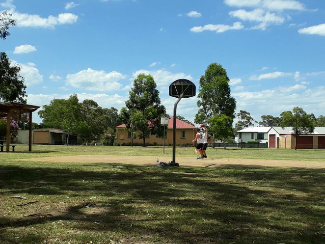 Fellmongers park, ormiston, redlands, playground, picnic, creek, bmx circuit, basketball,