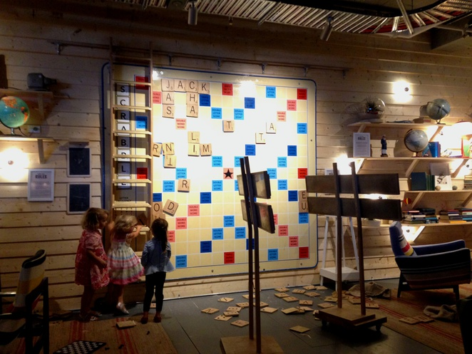 Giant Scrabble Board, Coogee Pavilion