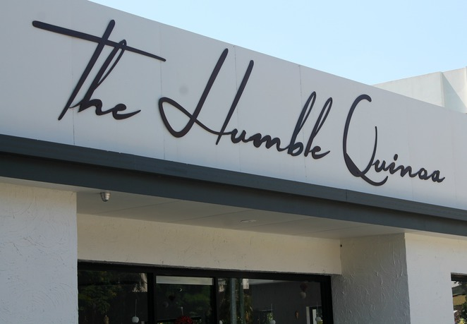 humble quinoa indooroopilly restaurant cafe suburb exterior sign