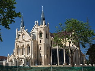 St Mary's Cathedral - Photo by Mark courtesy of Wikimedia Commons